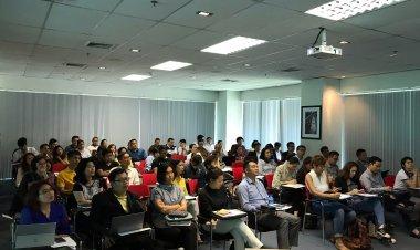 """ฝ่ายนวัตกรรมเพื่อเศรษฐกิจ ร่วมกับหอการค้าไทยจัดกิจกรรมสัมมนาเชิงปฏิบัติการ """"การพัฒนาโครงการนวัตกรรม Innovation 101"""""""