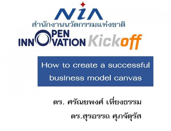 โมเดลธุรกิจกับการพัฒนานวัตกรรม