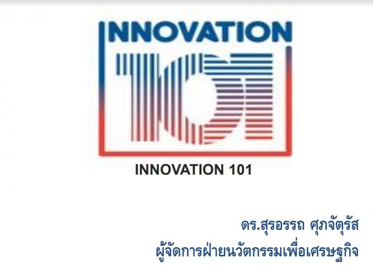 innovation 101 by Suraat
